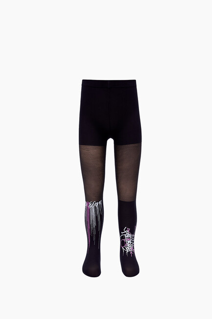 Bross - Dream Written Thin Kids Tights