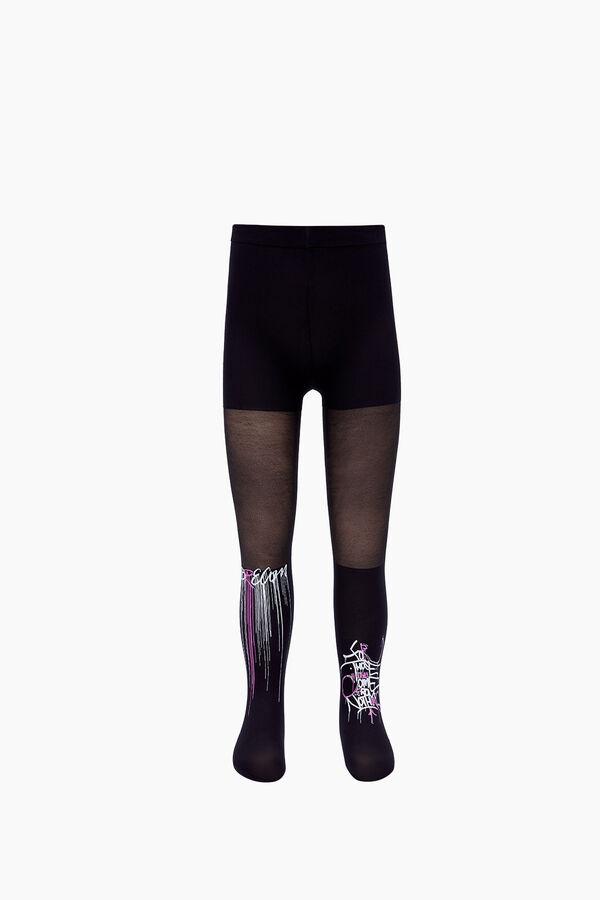 Dream Yazılı İnce Külotlu Çocuk Çorabı