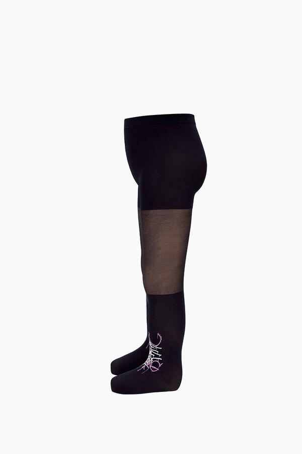 Bross Dream Yazılı İnce Külotlu Çocuk Çorabı