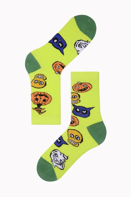 Bross - Bross Eğlenceli Halloween Çorabı