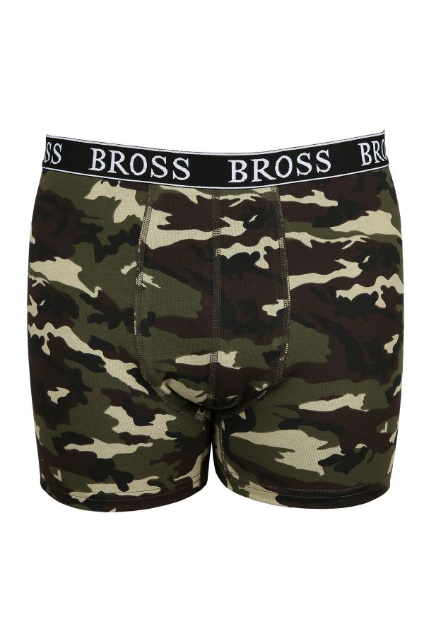 2-Pack Camouflage - Anchor Pattern Men's Boxer Combination