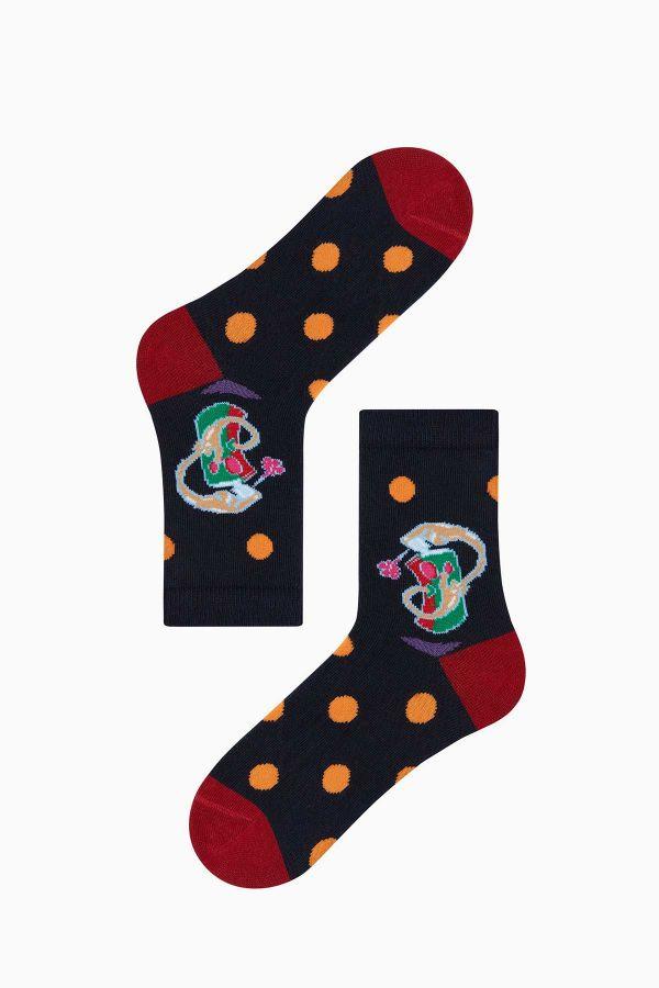Bross 3-Piece Spray Patterned Children's Socks