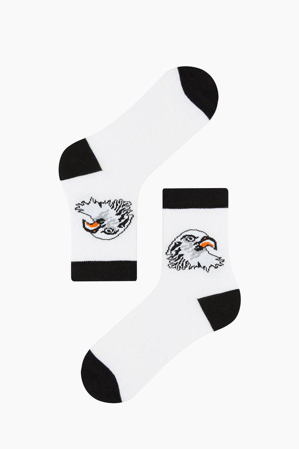Fans Pattern Kids Socks