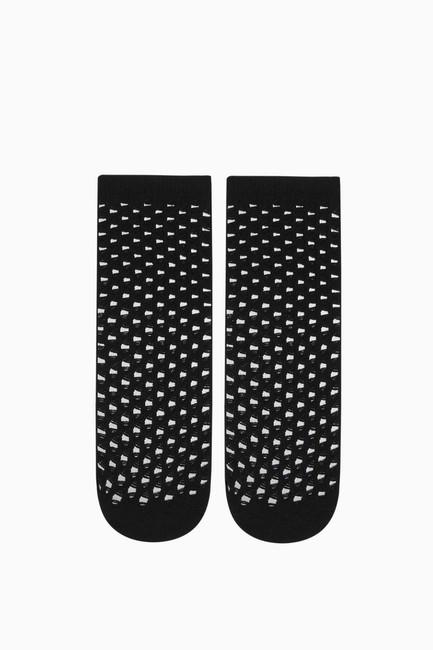 Fileli Kadın Çorabı - Thumbnail