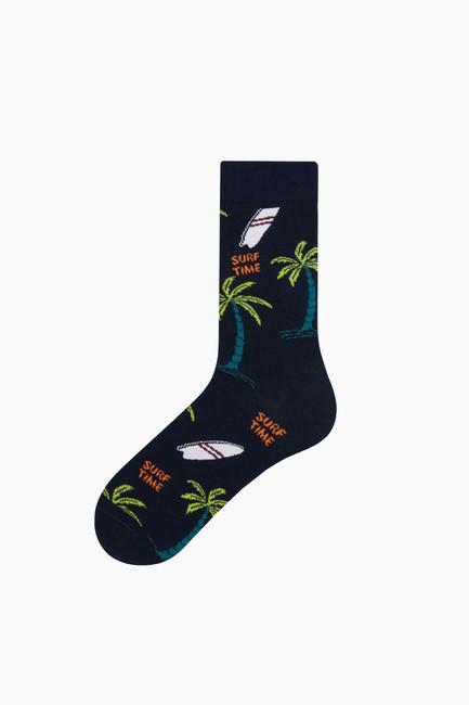 Bross - Hawai Desenli Erkek Çorabı