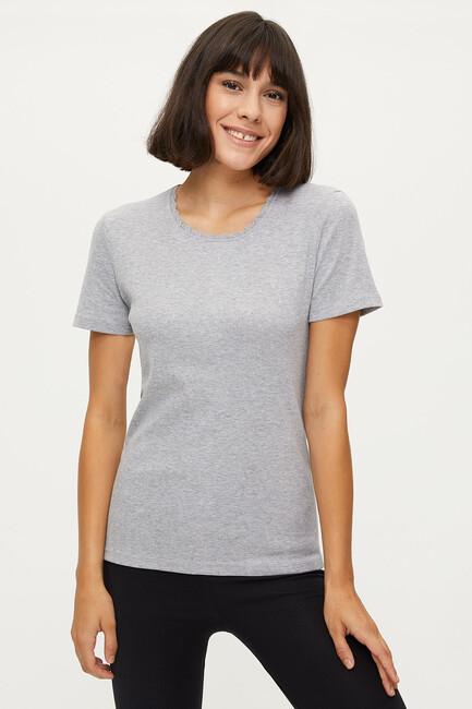 Bross - 100% Cotton Lace Women's Flannel