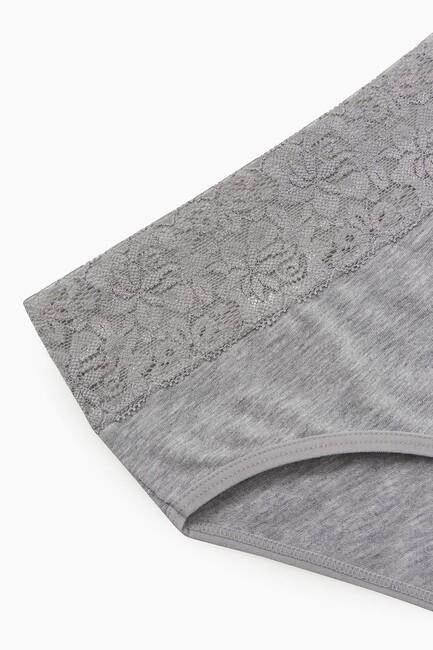 2-Pack Elastane Lace Women's Panties - Thumbnail