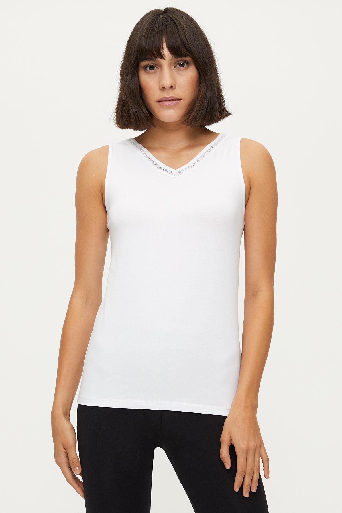 Bross - Bross Lycra Net Women's Undershirt
