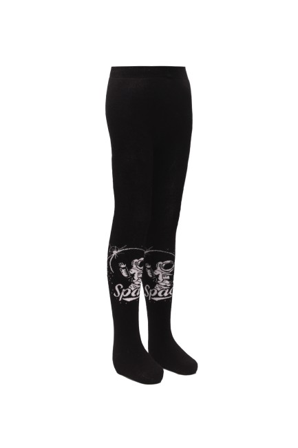 Bross - Bross Space Patterned Terry Kids' Tights