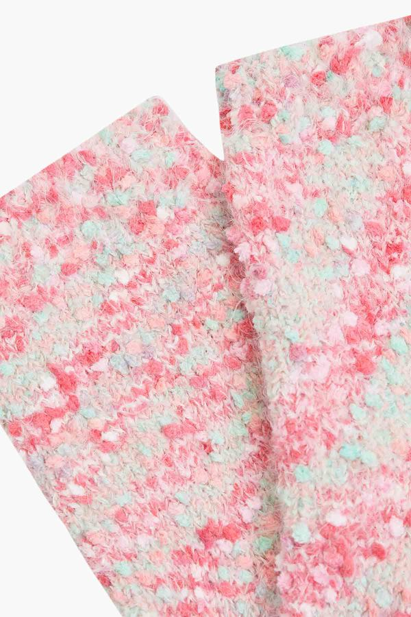 Karışık Renkli Peluş Çorap