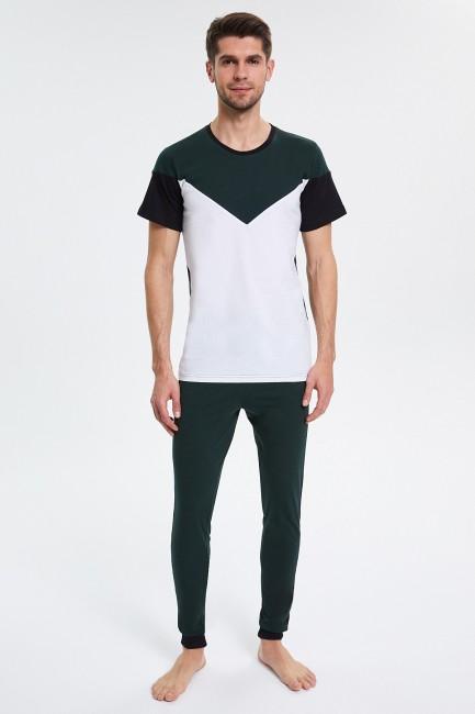 Bross - Short Sleeve Men's Pajamas Set