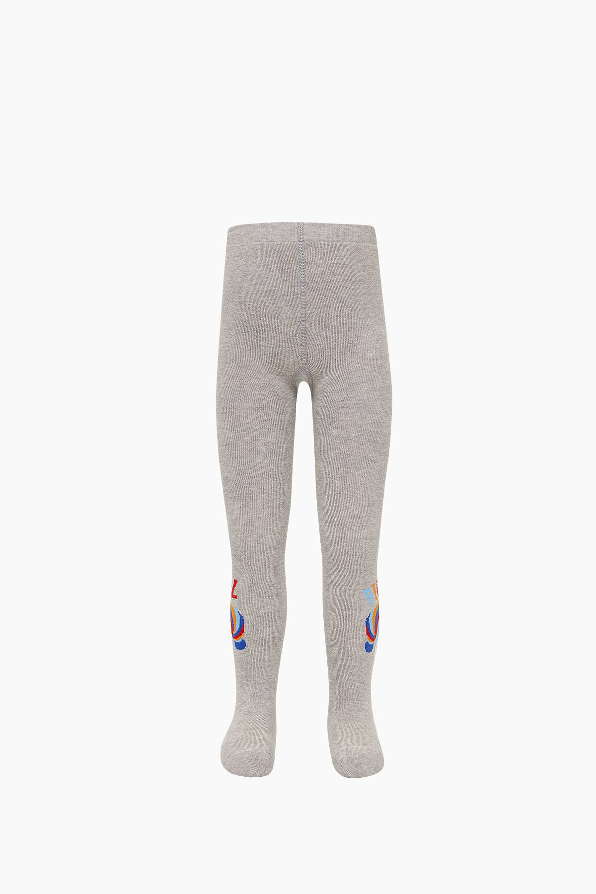 Bross Kuru Kafa Desenli Havlu Külotlu Çocuk Çorabı