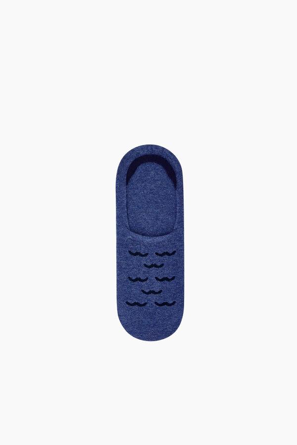 Bross Martı Desenli Babet Erkek Çorabı
