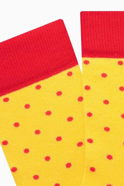 Mini Dot Men s Socks - Thumbnail