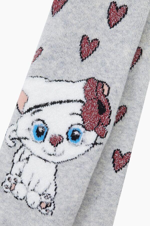 Miniş Kedi Havlu Külotlu Bebek Çorabı