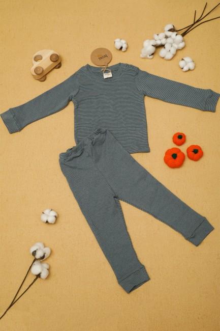 Bross - Organik Erkek Bebek Pijama