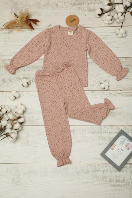 Bross - Organik Kız Bebek Pijama