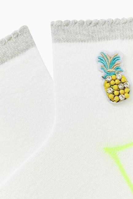 Pineapple Accessory Ladies Socks - Thumbnail