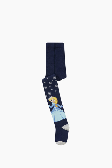 Bross - Princess Pattern Kids Tights