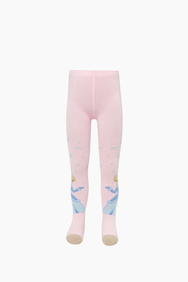 Bross Prenses Desenli Külotlu Çocuk Çorabı