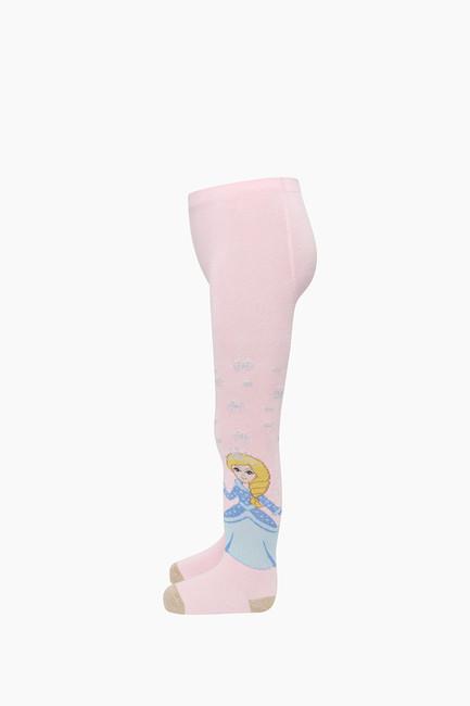 Bross Prenses Desenli Külotlu Çocuk Çorabı - Thumbnail