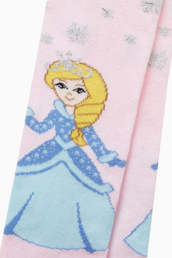 Princess Pattern Kids Tights