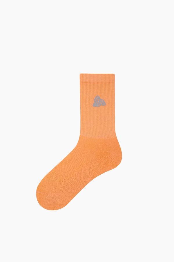 Reflector Printed Tennis Socks