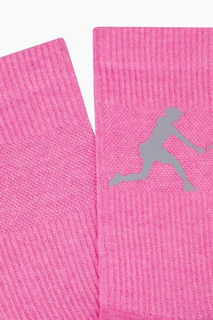 Bross Reflector Printed Sports Socks - Thumbnail