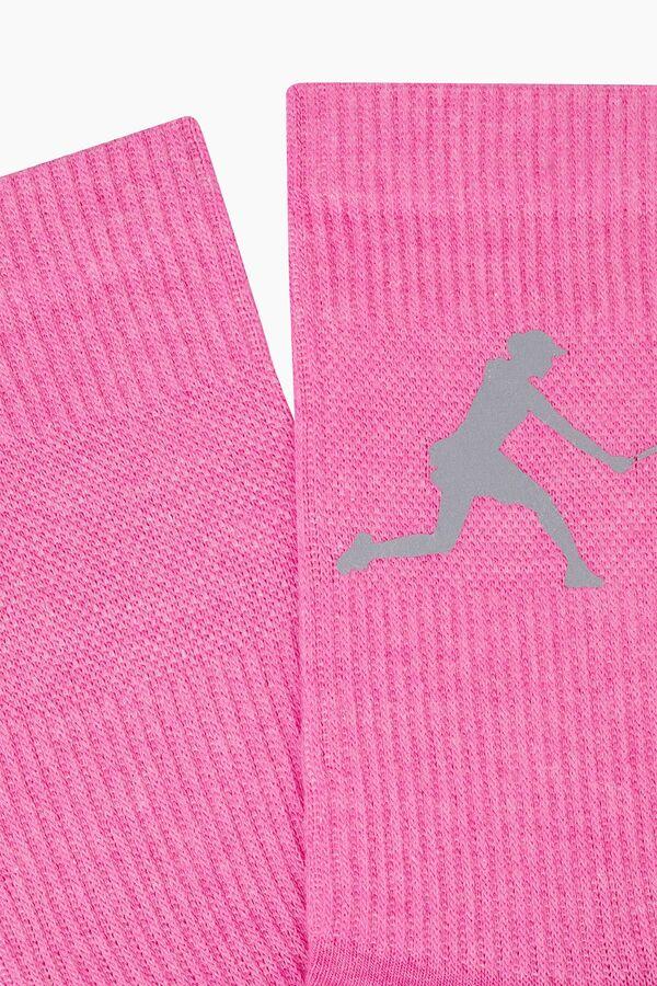 Bross Reflector Printed Sports Socks