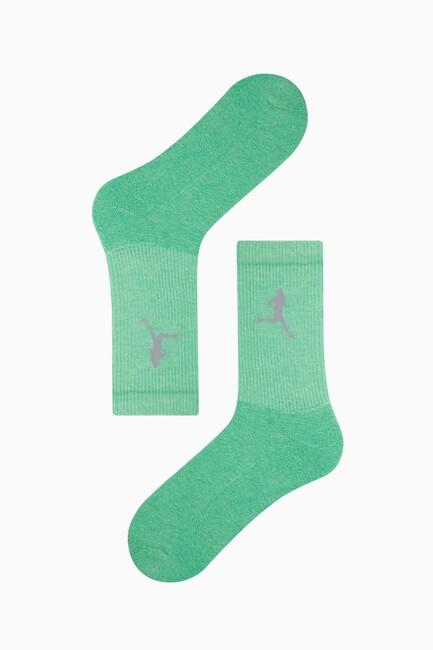Reflektör Baskılı Tenis Çorabı - Thumbnail