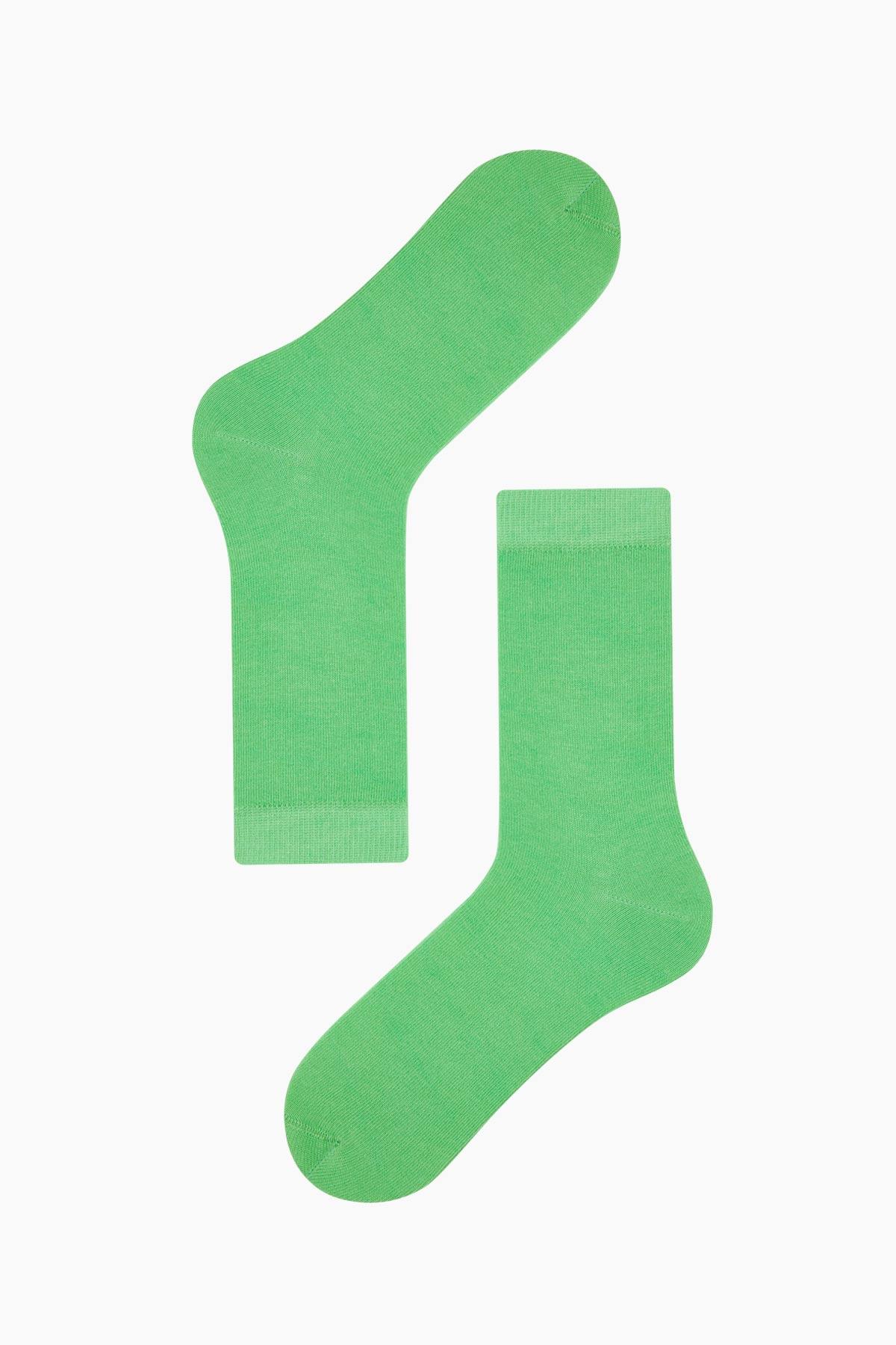 Renkli Kadın Çorabı