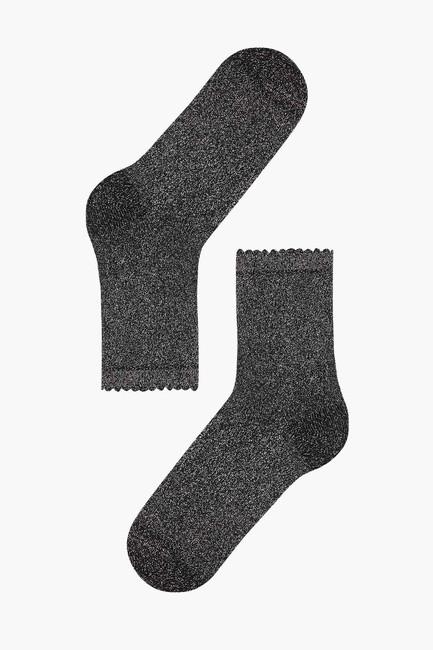 Simli Parlak Kadın Çorabı - Thumbnail