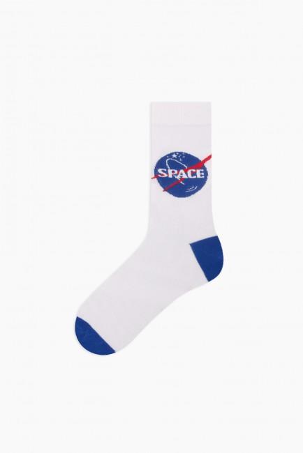 Space Collection Kutulu 3'lü Erkek Çorabı 2 - Thumbnail