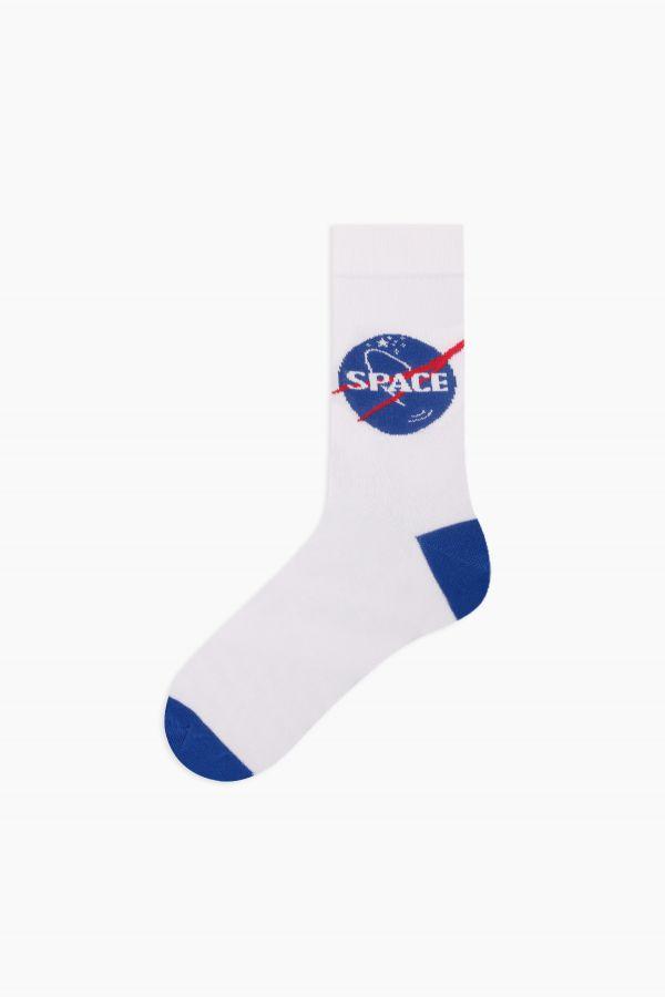 Space Collection Kutulu 3'lü Erkek Çorabı 2