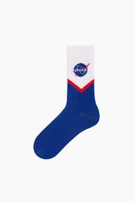 Space Collection Kutulu 3'lü Kadın Çorabı 2 - Thumbnail