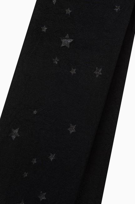 Star Pattern Thin Kids Tights - Thumbnail