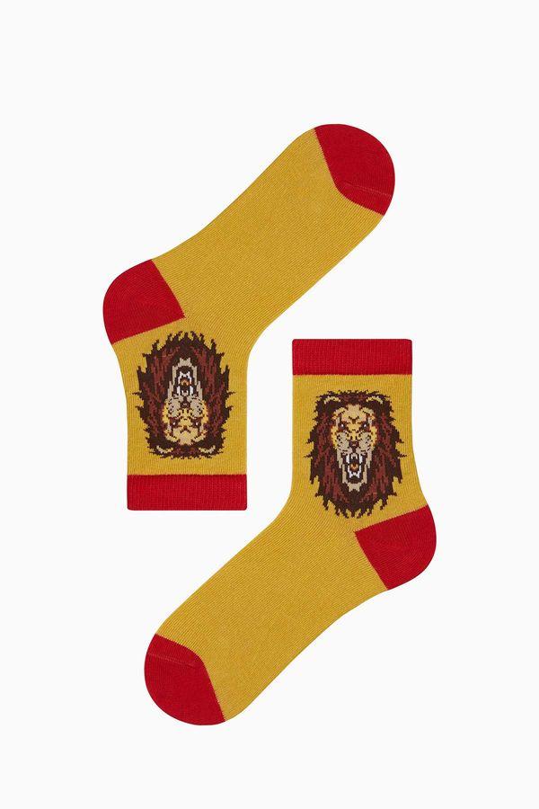 Taraftar Desenli Çocuk Çorabı
