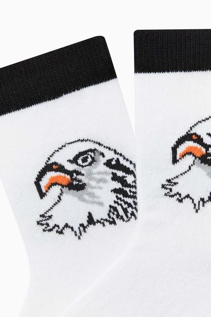 Bross Taraftar Desenli Çocuk Çorabı - Thumbnail