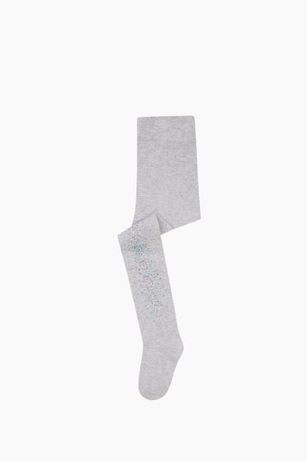 Bross - Taş Baskılı Çocuk Külotlu Çorap
