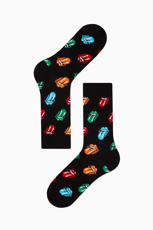 Tongue Pattern Men s Socks