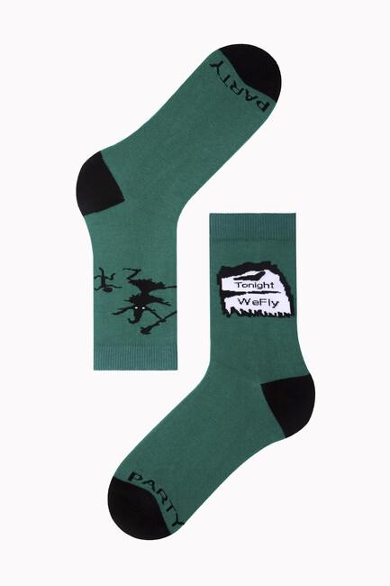 Bross - Tonight We Fly Letter Halloween Women's Socks