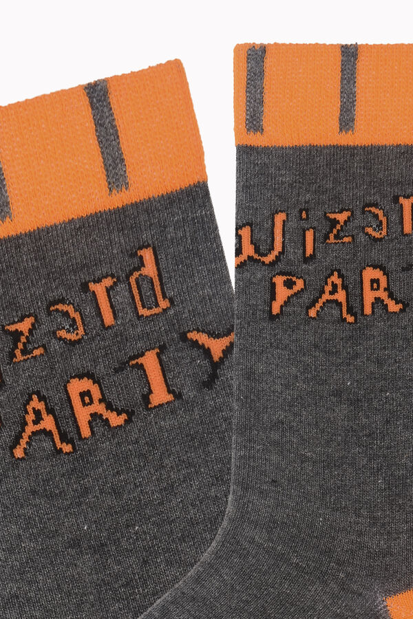 Wizard Party Written Halloween Women's Socks